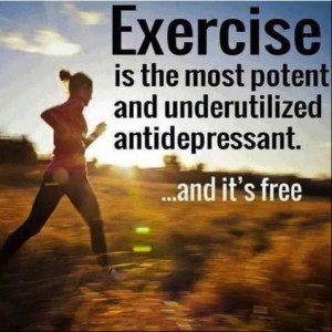 Exercise as an antidepressant
